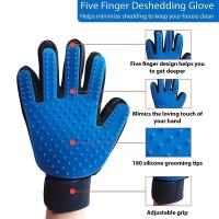 True Touch Pet Glove / Sarung Tangan Sisir Anjing Kucing Grooming