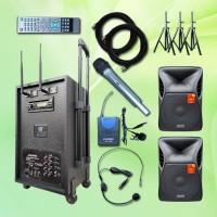 Harga dan spesifikasi portable sound system terbaik