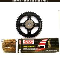Gear Set+Rantai SSS Honda CB150R