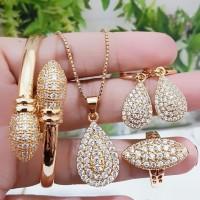 set perhiasan xuping terbaru