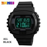 SKMEI 1304 50m Waterproof Men's Digital Sports Watch With Dual Time