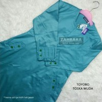 Gamis Toyobo By Zahrana - Gamis Murah - Toska