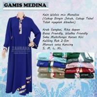 Gamis Medina By Zahrana - Gamis Wolfis Murah