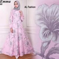 Gamis Maxi Dress Emma 8 - Baju Gamis Wanita Terbaru Busui Long Dress
