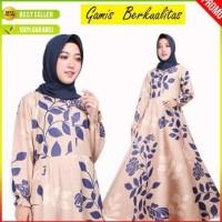 Baju Gamis Wanita Terbaru Busana Muslim Busui Pesta Maxi Long Dress 5