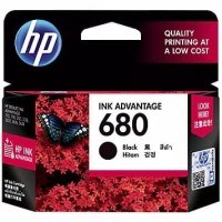 TINTA CATRIDGE HP 680 BLACK ORIGINAL