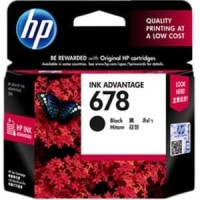 TINTA CATRIDGE HP 678 BLACK ORIGINAL