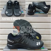 Sepatu Badminton Yonex Aerus 3 Men Black