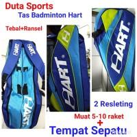 TAS BADMINTON HART 2R TEBAL+TEMPAT SEPATU