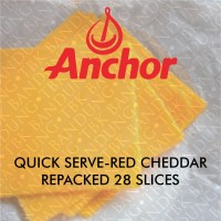 Anchor Red Cheddar Keju Slice Repacked