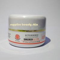 Kitoderm Sunscreen oily free White / sunblock kulit berminyak