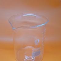 BEAKER GLASS 250ML RRC / BEAKER GELAS KIMIA UKUR KACA 250ML RRC