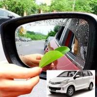 Anti Fog Film/Anti Embun Air Hujan Kaca Spion Mobil All New Avanza