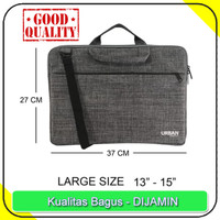 Tas Laptop Selempang | Softcase Netbook Notebook Ukuran 14 15 Inch