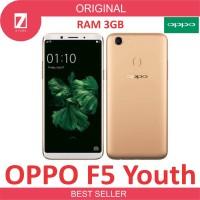 OPPO F5 YOUTH 3GB - Gold GARANSI RESMI OPPO INDONESIA 100%