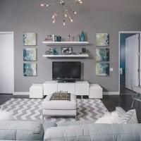 Interior Rumah Floating Elegan Ambalan Rak Dinding Minimalis Tipe DD