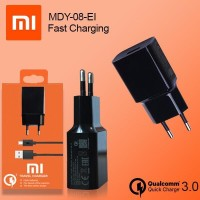 Charger Xiaomi MDY-08-EI Original 100% QUALCOMM 3.0 Fast Charging