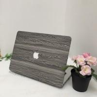 Macbook mac book NEW 12 inch cover hard case skin Print wood kayu