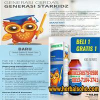 Starkidz Multivitamin & Fish Oil Untuk Tumbuh Kembang Anak