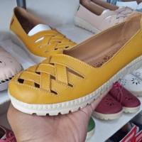 sepatu sandal kickers wanita kulit asli