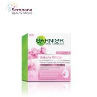 Garnier Sakura Whitening Serum Day Cream SPF21/PA+++ 50ml