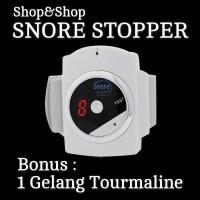SNORE STOPPER - ALAT ANTI NGOROK/DENGKUR - BONUS GELANG GINSAMYONG