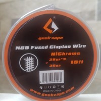 Geekvape Ni80 Fused Clapton Wire Authentic Nicrome