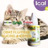 FOR FLU Obat Flu Dan Pilek Kucing Dan Kitten Aman Terdaftar