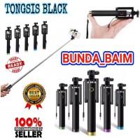 TONGSIS BLACK VU371 / TONGSIS TOMBOL KABEL MONOPOD SELFIE STICK