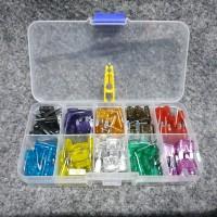 Fuse Tancap Blade Kecil Set 120 Pcs + Box + Capit