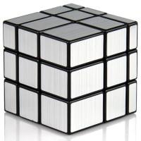 Rubik Mirror 3x3 Silver YongJun Magic Cube 3x3x3