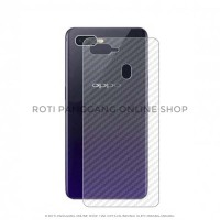 OPPO F9 Carbon Back Skin Protector Premium High Quality / F 9