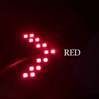 Led Sign Sein Spion Mobil Arrow Panah Red SMD14 14 SMD Tanda Panah