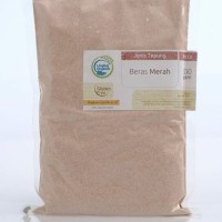 Lingkar Organik Tepung Beras Merah 500 Gram   MPAsi   Organic Flour
