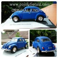VW CLASSICAL BEETLE MATT Diecast Miniatur Mobil Kinsmart