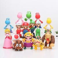 Promo 815cm Super Mario Bros Bowser Koopa Troopa Yoshi Mario Luigi