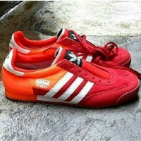 SEPATU ADIDAS DRAGON FOR MAN ORANGE MERAH