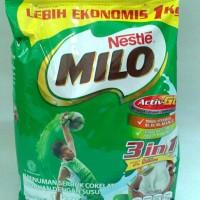 Milo 3in1 1kg Minuman serbuk coklat dengan paduan susu dan extramalt