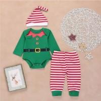 Ready.. Baju natal Elf set
