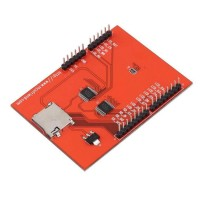 2.4 Tft Lcd Shield Touch Panel Module Tf Reader Micro Sd Untuk
