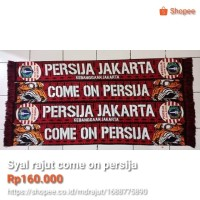 syal rajut come on persija