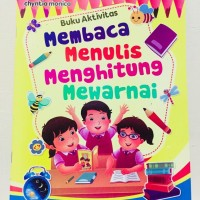 Buku Anak Membaca,Menulis, Menghitung, Mewarnai