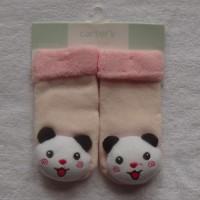 Kaos kaki Boneka Carter motif Panda ukuran 0-12bln baby girl