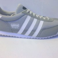 SEPATU CASUAL ADIDAS DRAGON FOR MAN FULL ABU
