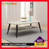 Coffee Table / Meja Tamu Kayu Kaki Logam 99800