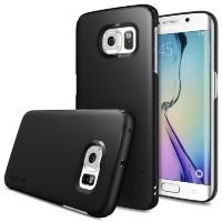 ORIGINAL Rearth Ringke Slim Casing Samsung Galaxy S6 Edge + - SF Black