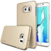 ORIGINAL Rearth Ringke Slim Casing Samsung Galaxy S6 Edge + Royal Gold