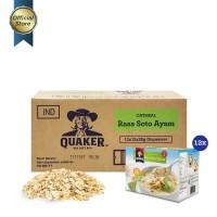 Quaker Instant Oatmeal Soto Ayam Box 12s [1 Carton - 12 Pcs] [P]
