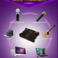 Soundcard XOX KS108 record sound card SMULE external online