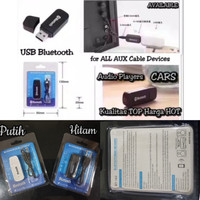 USB BLUETOOTH RECEIVER WITH CABLE Wireless Aux Audio Music Player Car